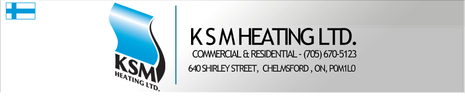 Heating and Air Sudbury - K S M Heating Ltd Logo
